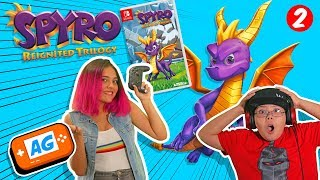 SPYRO Reignited Trilogy Switch en Español