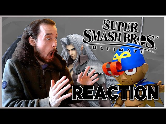 Let's React to Sakurai Presents Sephiroth! - Live Reaction!