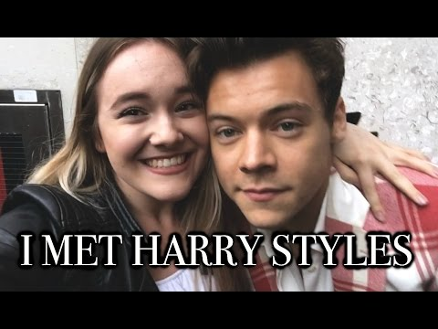 I FINALLY MET HARRY STYLES