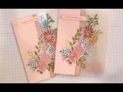 Window and Vellum Mothers Day Card