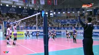 Japan vs China (Final/Chung kết) - 2014 Asian Women's Club Championship