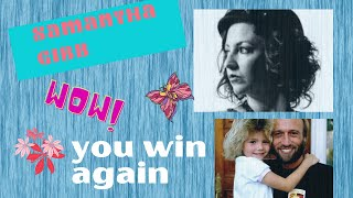 samantha  gibb - you win again / cover {  live performance }dont forget to look at  my end  video