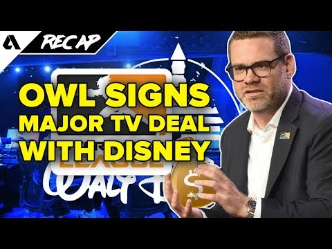Overwatch League Partners With Disney, Geguri & Jake Meet With Olympic Committee | Akshon Recap thumbnail
