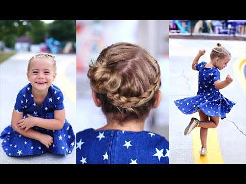 Crown Braid | Toddler Hairstyle | Cute Girls Hairstyles thumbnail