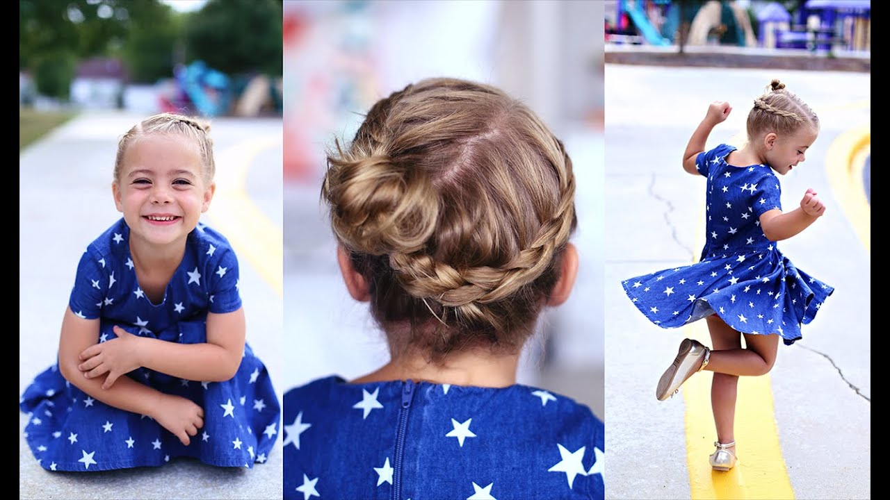 Crown Braid Toddler Hairstyle Cute Girls Hairstyles