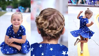 Crown Braid | Toddler Hairstyle | Cute Girls Hairstyles