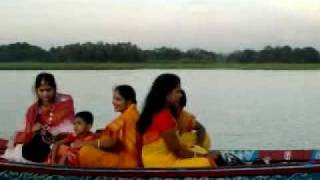 A journey by boat In Tangail, Bangladesh. Made by Hasan Kazi