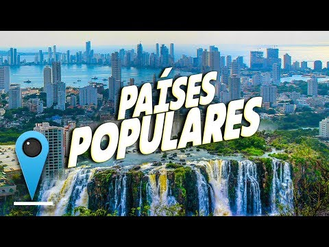 Los 10 países MÁS visitados de América Latina