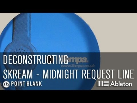 Skream - Midnight Request Line Deconstructed (Ableton Live 9 Push Tutorial)