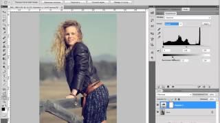 Photoshop  7 способов сделать из фото конфетку  7 урок   Модное тонирование  Евгений Карташов