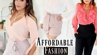 Affordable Spring Fashion Haul & How To Style It - Boohoo, Misspap, H&M - MissLizHeart