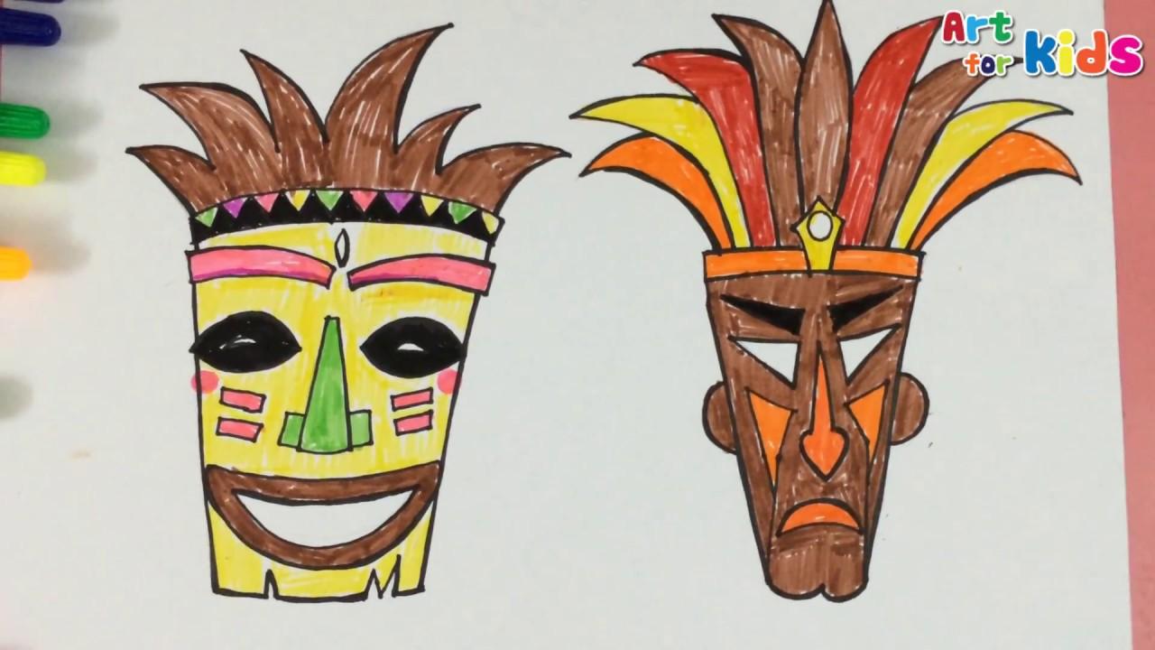 Tiki Masks For Kids Kids Matttroy