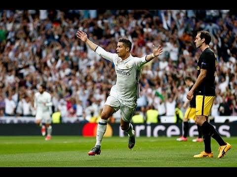 Ronaldo HAT TRICK [Real Madrid 3-0 Atletico Madrid]