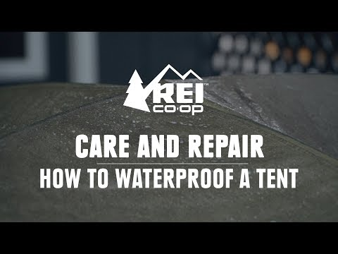 How To Waterproof A Tent || REI