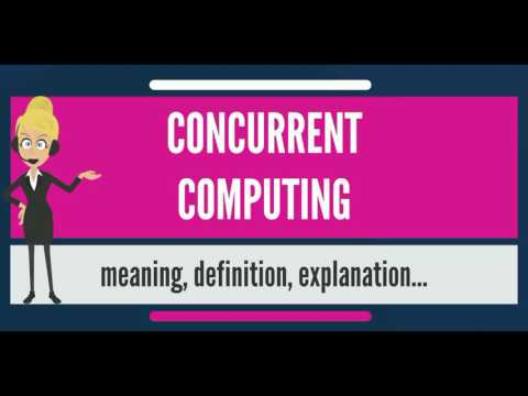 What is CONCURRENT COMPUTING? What does CONCURRENT COMPUTING mean?
