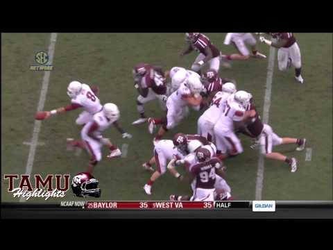 Texas A&M Defensive Big Plays and Big Hits 2012-2013 Season