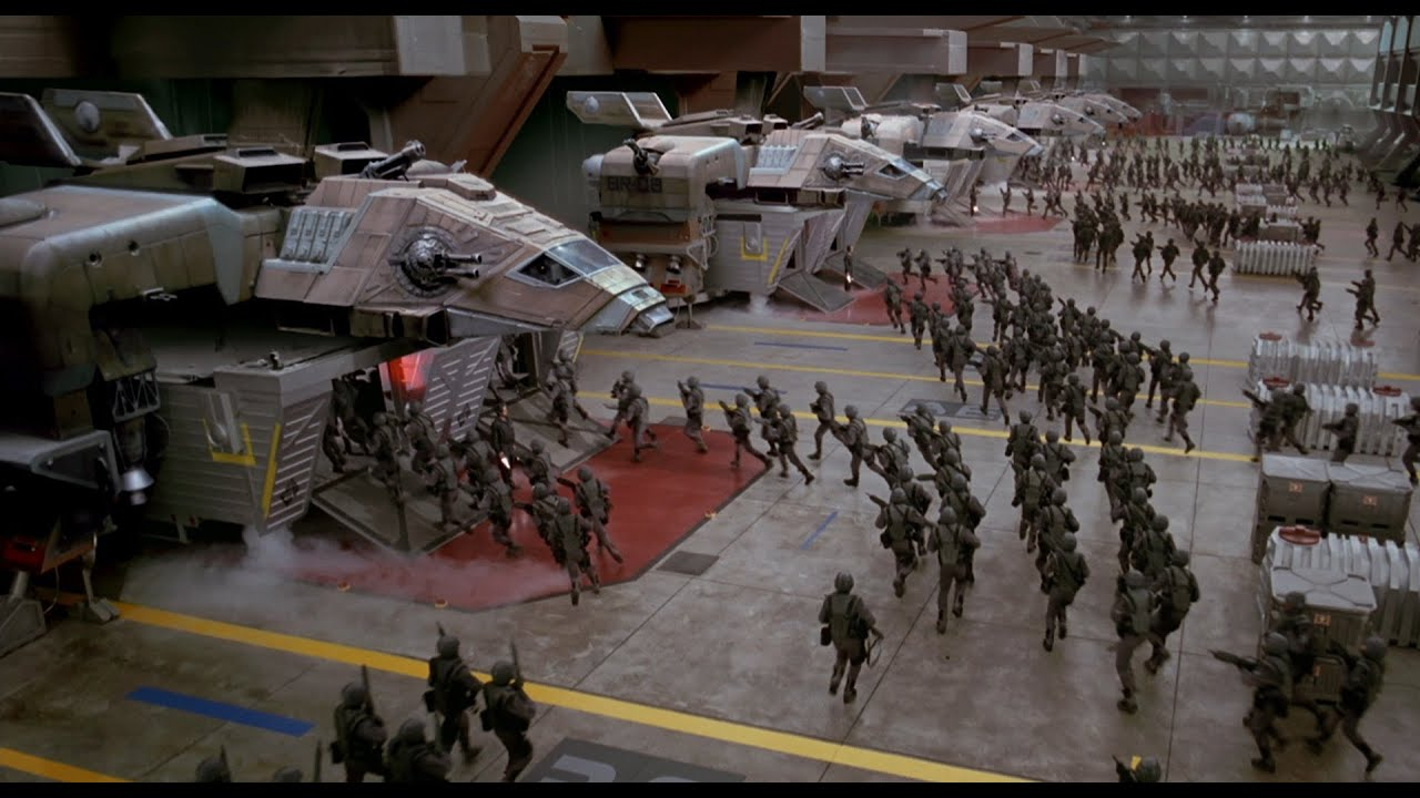 Starship Troopers Command Ship YouTube