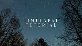 タイムラプスの撮影方法 #1 〜必要な機材&カメラの設定〜 ☆ Timelapse Tutorial - equipments & camera settings - thumbnail
