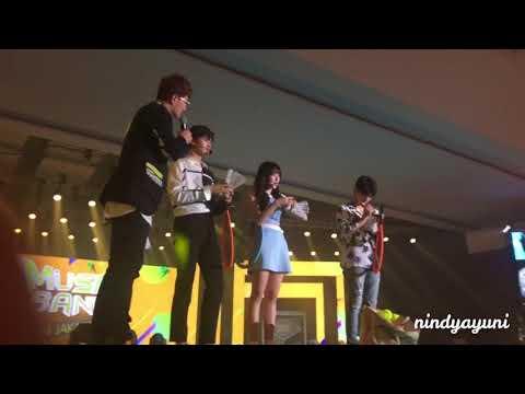 [FANCAM] Music Bank In Jakarta (Cha Eunwoo - ASTRO, Yerin - GFRIEND, Baekhyun - EXO)