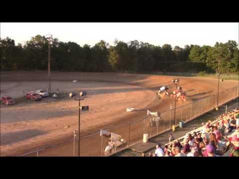 Butler Motor Speedway Sprint Heat #1 7/29/17