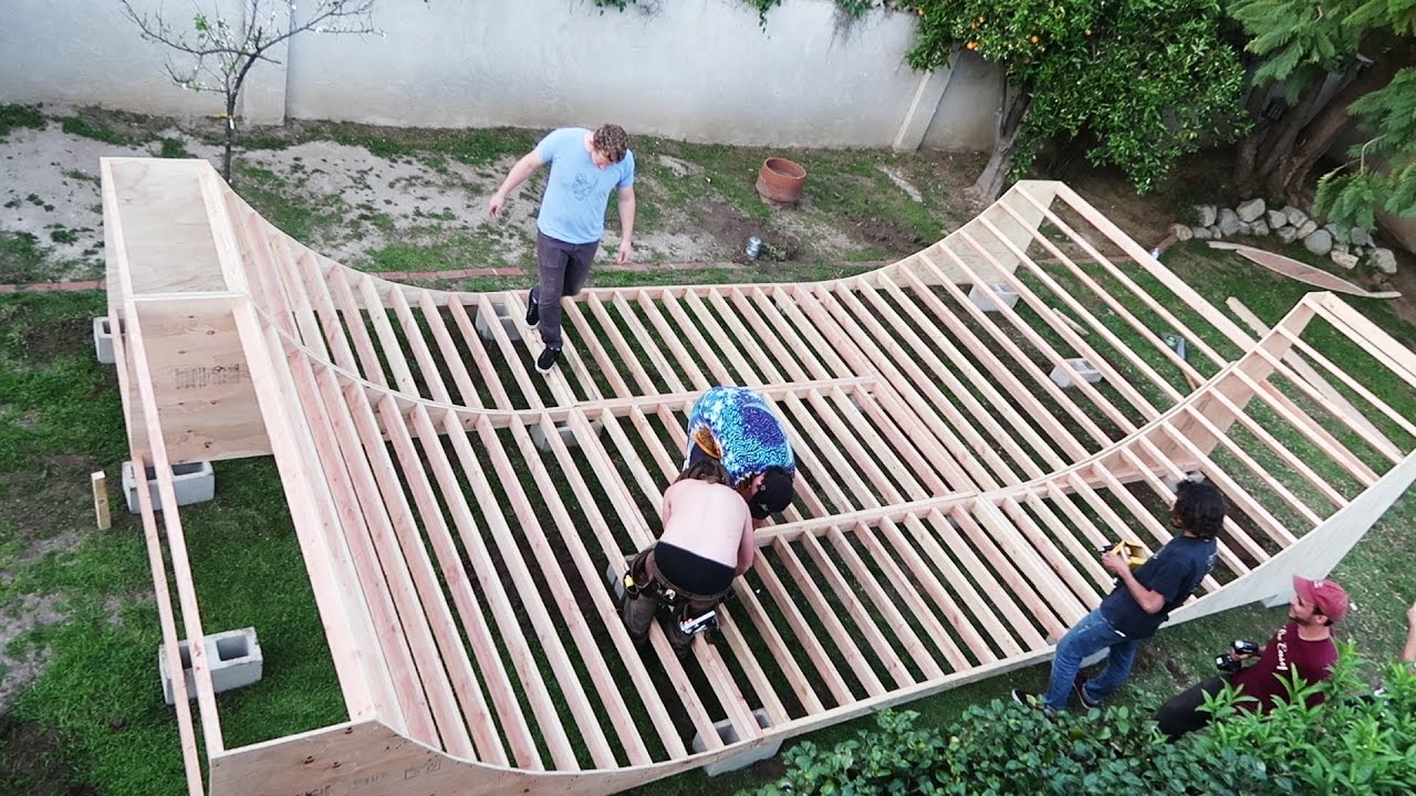 be easy builds a mini ramp youtube