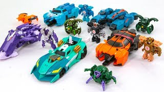 Transformers RID Mini Con Deployers Crazybolt Drift Fracture Overload Vehicle Robot Car Toys