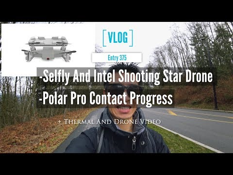Thinking Future Mainstream Small Drones Like A Selfly And Intel Shooting Star And Polar Pro Update