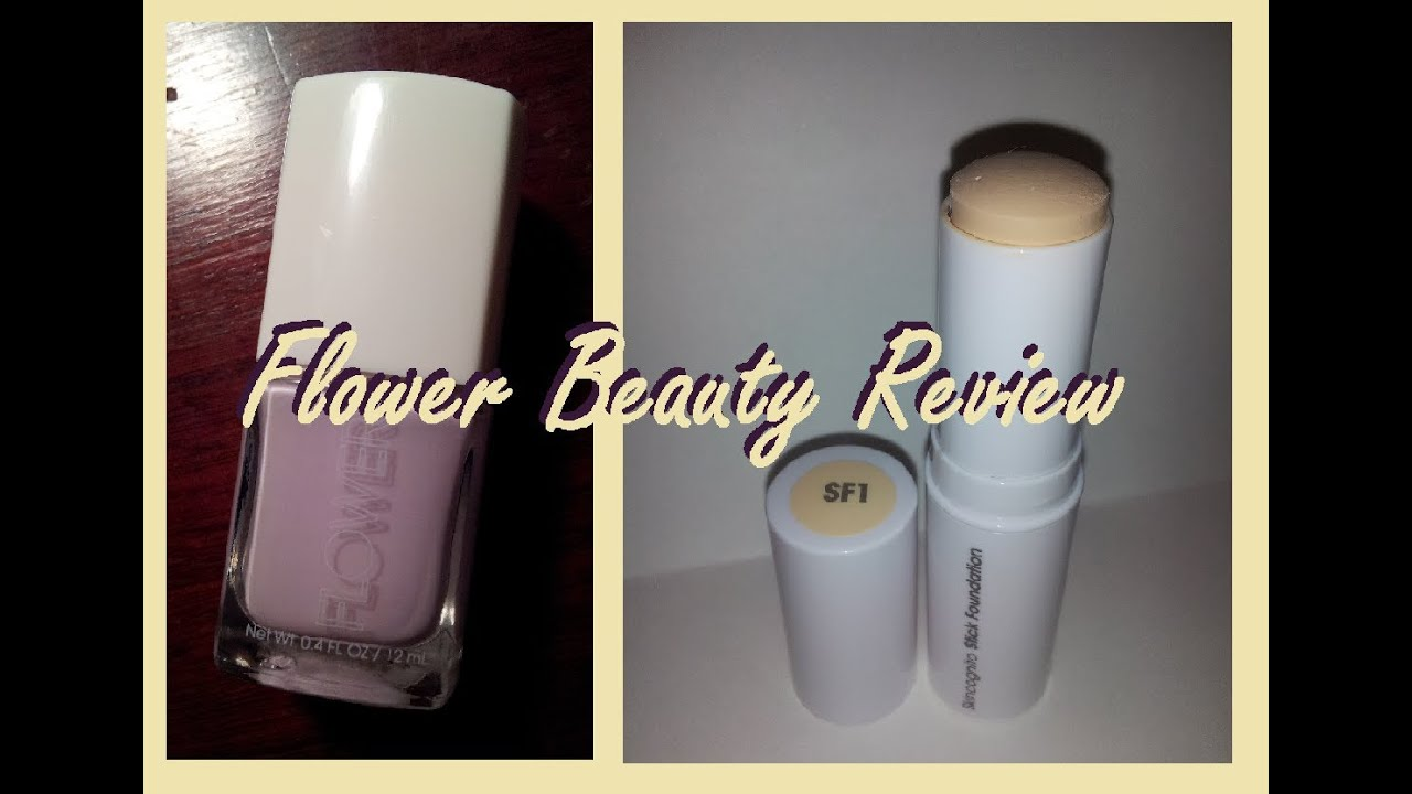 Another Flower Beauty Review Skincognito Stick Foundation Nail