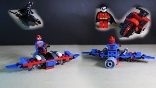 LEGO DC Vs Marvel SuperHeroes Batman Robin Spiderman Poly Bags DeCool Bootleg Review
