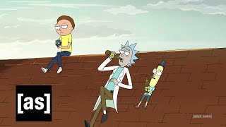Rooftop Lamentations | Rick and Morty | adult swim