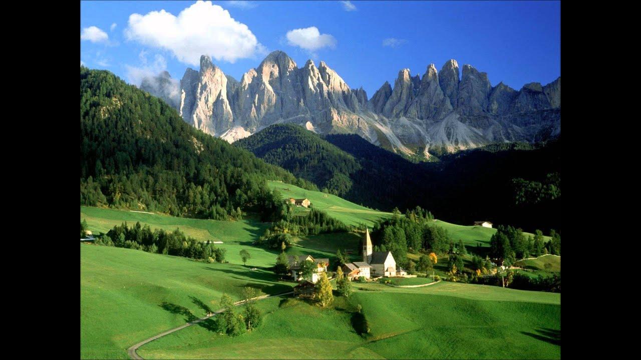 Le paysage magnifique youtube for Le paysage