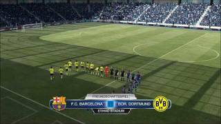 FIFA 12 PC Demo Gameplay - FC Barcelona vs. Borussia Dortmund
