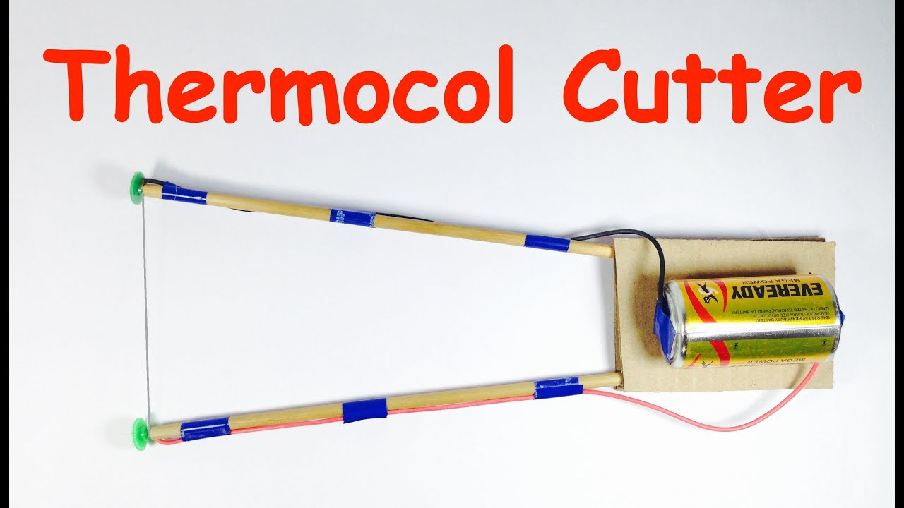 How To Make Thermocol Cutter At Home Youtube