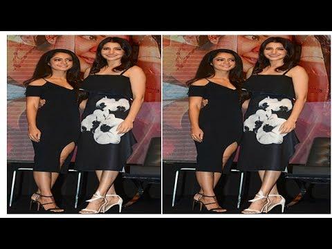 7f65e6a062e Yay or Nay  Anushka Sharma in black floral motif dress - YouTube