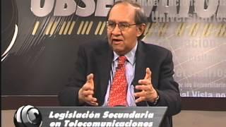 OBSERVATORIO Legislación Secundaria en Telecomunicaciones (contraste 4)