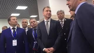 Игорь Шувалов прибыл на Саратовский экономический форум