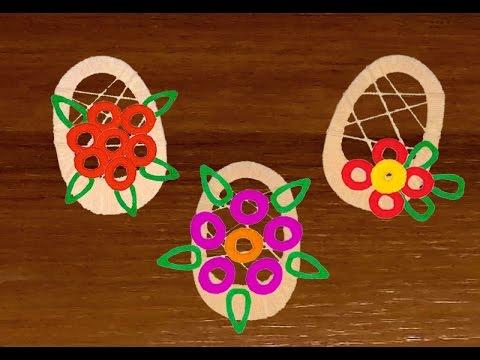 Как сделать корзину с цветами по технологии 2 класс