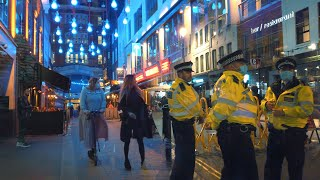 LONDON THURSDAY NIGHT 'FIRST 10PM CURFEW' - West End Walk incl. Soho & Chinatown