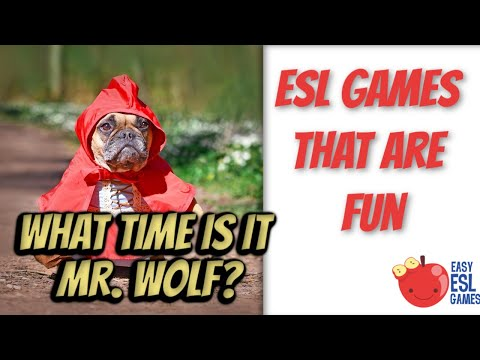 What Time Is It Mr  Wolf? (Updated Version With Better Audio)