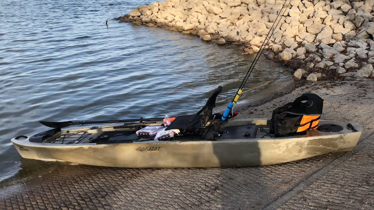 First time taking the kayak out on the water Ascend 128T