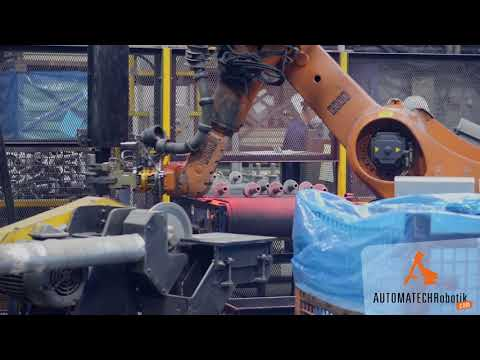 Metalcasting industry Robotic Cell