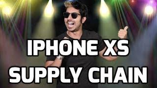 iPhone XS Supply Chain