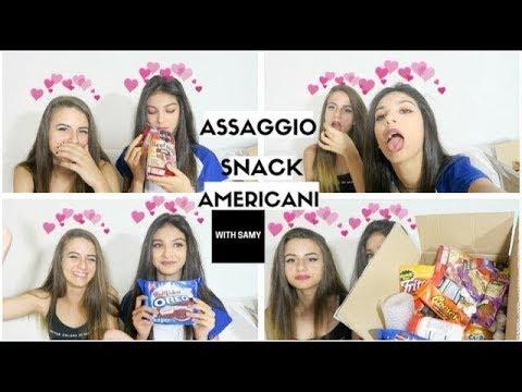 ASSAGGIAMO CIBO AMERICANO | with Samy