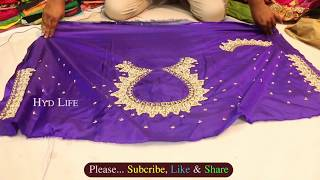 Maggam Work Blouse Designs | different heavy designs with price | #CharminarShopping