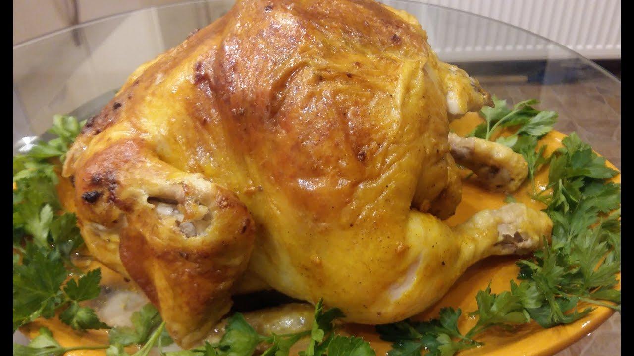 Вкусно зажарить курицу в духовке