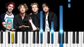 5 Seconds of Summer - Want You Back - Piano Tutorial & Sheets!