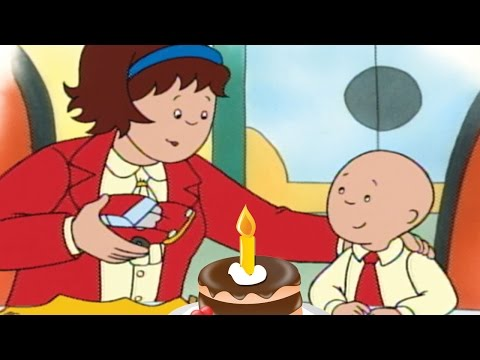 Funny Animated cartoon for Kids | Cartoon | Happy Mother's Day from Caillou | Mother's Day Special