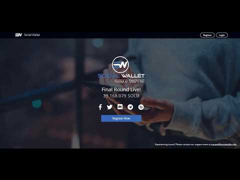 Social Wallet [WIRE] - Integrating Cryptocurrency Into Social Networks (ICO REVIEW)