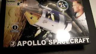 OOBReview: Revell Apollo CM, 40th Anniversery
