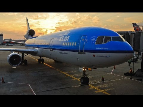 FAREWELL MD-11 | LAST COMMERCIAL FLIGHT | MONTREAL-AMSTERDAM | KLM